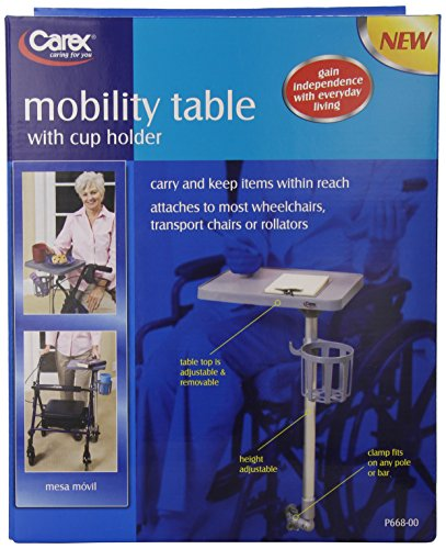 Carex Health Brands Mobile Tray