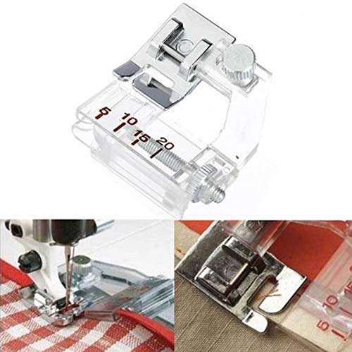 Lljin Snap On Adjustable Bias Tape Binding Foot Brother Janome Sewing Machine