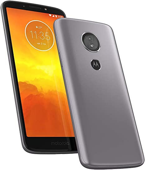 Celular Smartphone Motorola Moto E5 Xt1944 32gb Prata - Dual Chip
