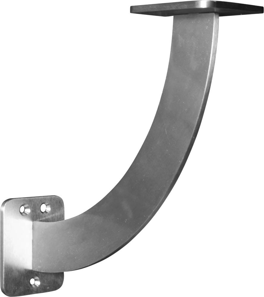 Legacy Countertop Bracket in Stainless Steel - Dimensions: 11 x 3 x 11 inches