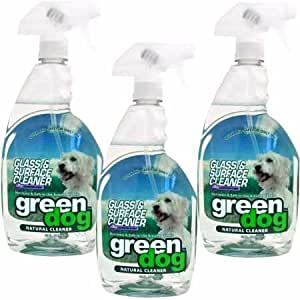 3PACK Green Dog Glass Surface Cleaner (96 fl. oz.)