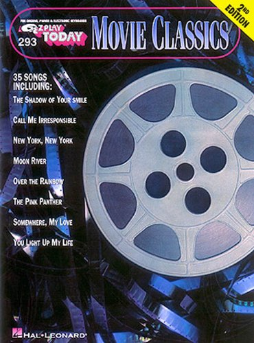 Movie Classics: E-Z Play Today Volume 293 (E-Z Play Today, (Blue Moon Piano Sheet)