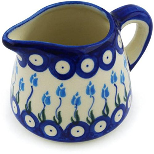 Ceramika Bona H0691H Polish Pottery Ceramic Pitcher Hand Painted 10-Ounce