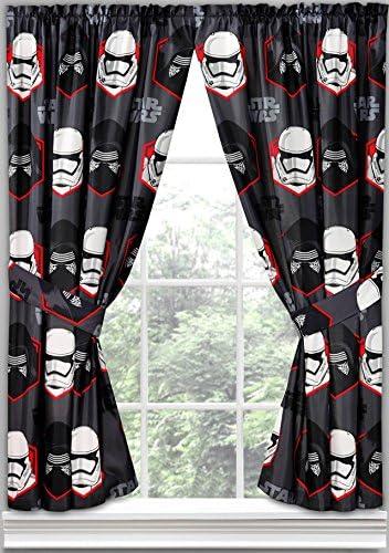 Star Wars Episode VII Window Curtain Panels, Set of 2