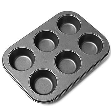 Molde para tartas – 1 pieza de 6 moldes de donut para tartas, chocolate,