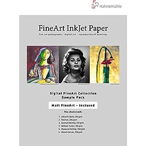 Amazon.com : Hahnemuhle Matte FineArt Textured Archival Inkjet ...