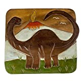 Sea Island Imports Dinosaur Design Hand Carved