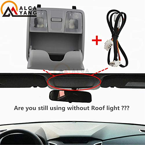 Fincos for Hyundai Elantra GT / I30 /IX25ACCESSORIES2012-2016 OEM Lamp Assy Overhead Console Reading Lights/map Lights/Glasses Box