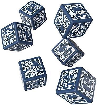 Q Workshop Doctor Who RPG Dice Set 6 x D6 Deluxe: Amazon.es: Juguetes y juegos