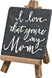 Primitives By Kathy Mini Easel - I Love That You're My Mom