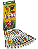 3 Packs Crayola Erasable Colored Pencils Sharpened School Supplies and 1 FREE Neon Eraser (24 count) Comes with Free How to Live Stress Free Ebook