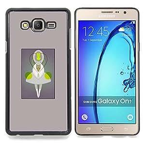 Stuss Case / Funda Carcasa protectora - Siendo Carácter Monstruo de la historieta - Samsung Galaxy On7 O7