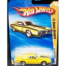 "Hot Wheels 2010 New Models 36/44 Yellow ""71 DODGE CHARGER 036/240 1:64 Scale Collectible Car"