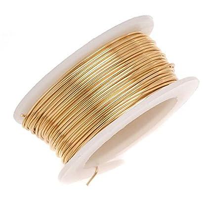 Amazon.com: Artistic Wire 18-Gauge Non-Tarnish Brass Wire, 4-Yards