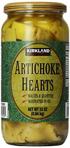 Kirkland Signature Artichoke Hearts, 33 Ounce