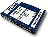 1954-1962 600 to 1801 Ford Tractors Master Factory Service Shop Manual
