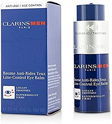Clarins Men Line-Control Eye Balm, 0.6 oz/20 ml