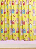 Character World 72-inch Peppa Pig Seaside Curtains, Multi-Color