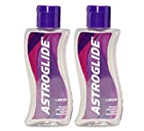 Astroglide Liquid Personal Lubricant Water-based Water-soluble Condom-compatible Long-lasting Silky Smooth: Size 5 Oz. / 148 Ml. (Pack of 2)