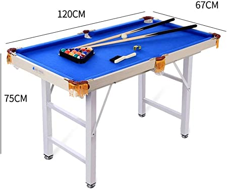 LCRACK Set De Billar con Bolas Tacos, Tiza, Mesa De Billar for Snooker Deporte Juego Familia (Color : Plegable): Amazon.es: Hogar