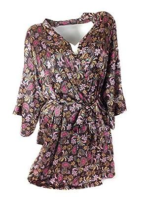 Victorias Secret Satin Robe Medium/Large
