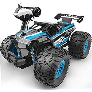 GizmoVine Remote Control Car Large Size RC Car hobby Mode Rock Crawler Waterproof Climber 2.4Ghz Off Road RC Vehicle for…