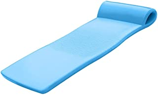 "product image for TRC Recreation Sunsation 70"" Foam Raft Lounger Pool Float, Bahama Blue (4 Pack)"