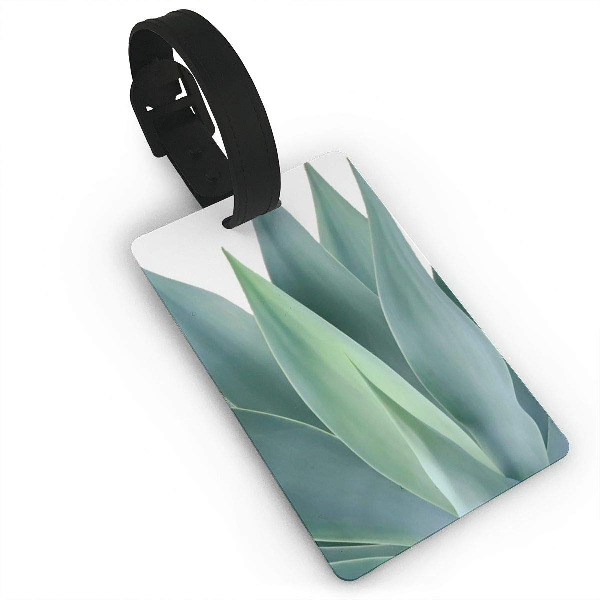 Set of 2 Agave blanco Luggage Tags Suitcase Labels Bag Travel Accessories