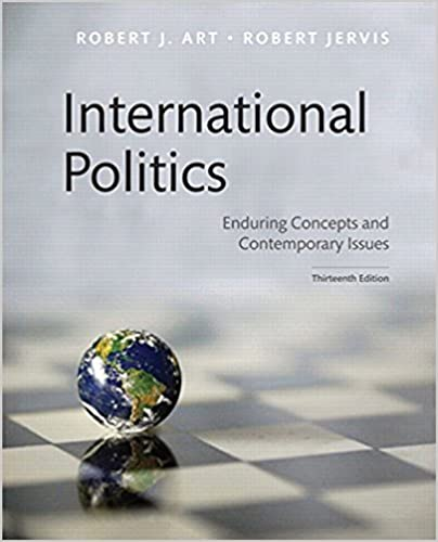 and robert jervis eds international politics enduring concepts and