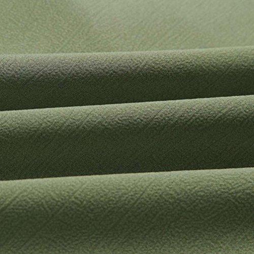 Tops Fibbia Ladies Donna a Collo Shirt Camicetta Verde T Risvolto Top YUMM 8wAvqvU
