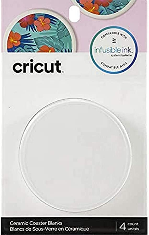 Line Drawn Cricut Coasters