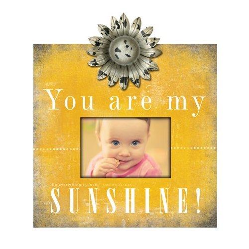 amazoncom carpentree you are my sunshine photo frame 12 by 12 inch - You Are My Sunshine Frame