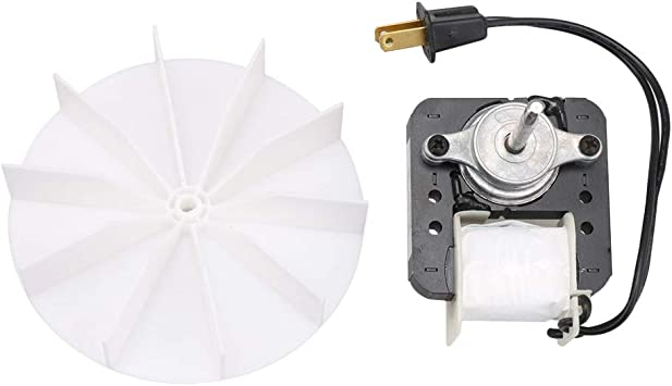 Rdexp 120v Bathroom Exhaust Vent Fan Motor With Fan Blade Parts Sm550 Replacement For Electric Ventilator Motor Amazon Ca Home Kitchen