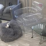 JCDS Supreme 18FW Inflatable Chair tnr (Transparent)
