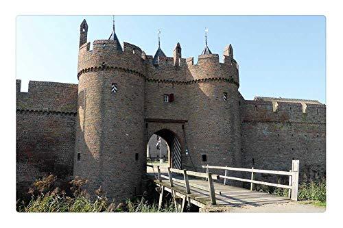 - Tree26 Indoor Floor Rug/Mat (23.6 x 15.7 Inch) - Building Castle Port Historic Building History