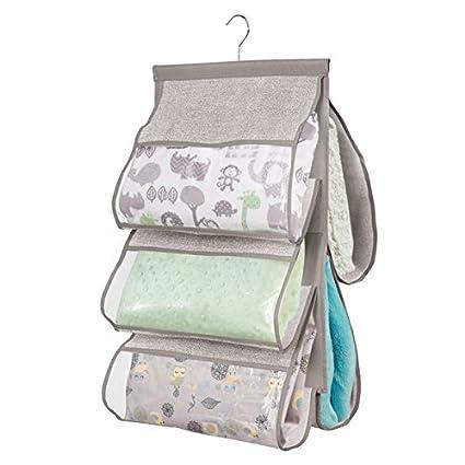 mDesign Colgador ropa para habitacion infantil - Organizador ...