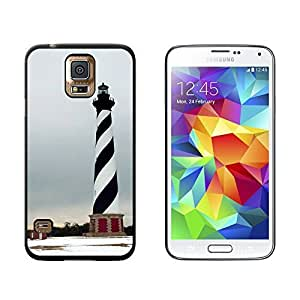 New Style Cape Hatteras Light House NC - Snap On Hard Protective Case for Samsung Galaxy S5 - Black