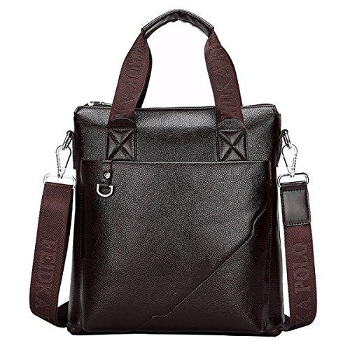 Briefcase Casual Handbag C Business Bag Cowhide Men's nx17Aq