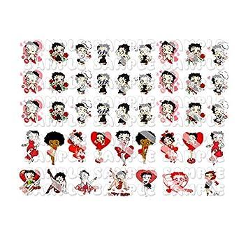 Betty Boop Stickers Set 1996 Sticker