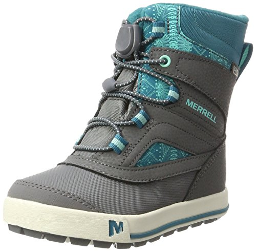 de Grey Waterpoof Randonnée Snow 2 Bank Fille ML Hautes Chaussures 0 Merrell Gris Turquoise g 1qZW8