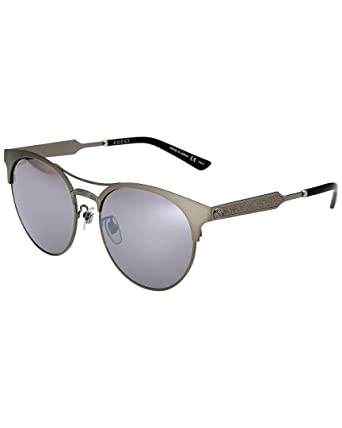 b8ed2d0e5e7 Image Unavailable. Image not available for. Color  Gucci Womens Women s  Gg0075sk-30001045005 56Mm Sunglasses