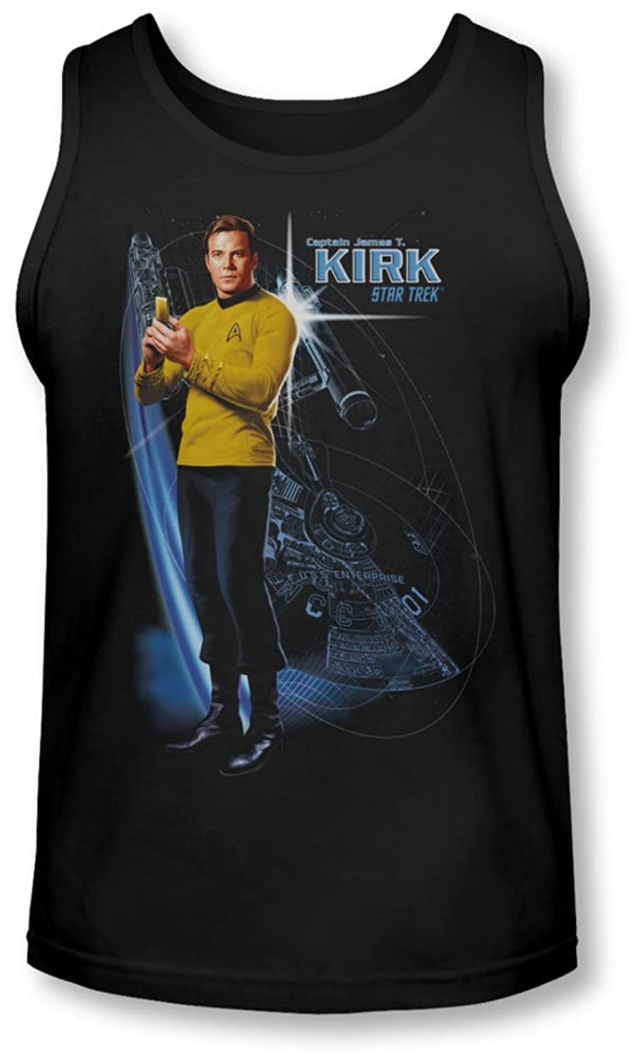 Star Trek - Mens Galactic Kirk Tank-Top