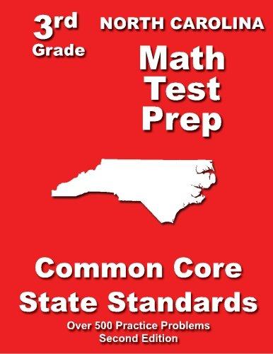 North Carolina 3rd Grade Math Test Prep: Common Core State Standards