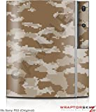 Sony PS3 Skin WraptorCamo Digital Desert