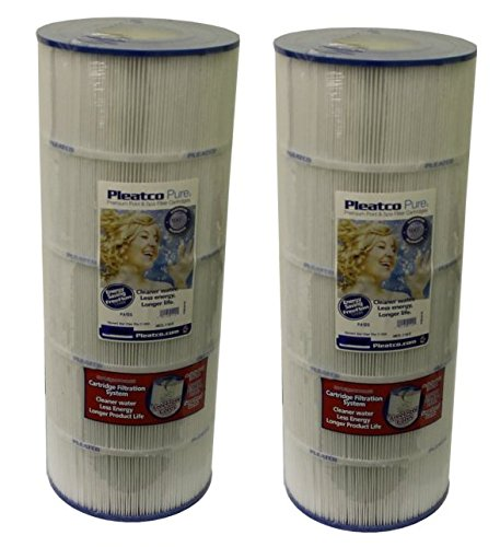 Pleatco PA120 Replacement Filter Cartridge for Hayward Star-Clear Plus C-1200, 2-Pack