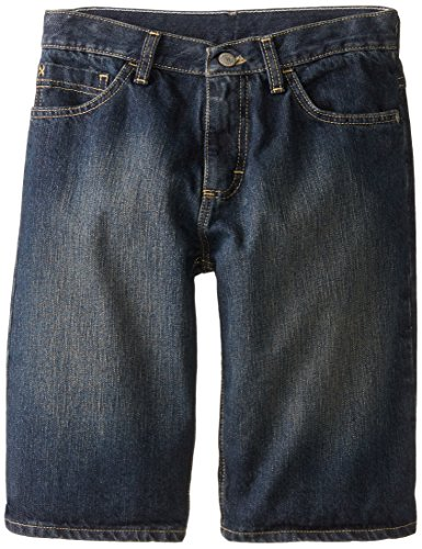 Wrangler Authentics Big Boys' Five Pocket Short, Blackened Indigo, -