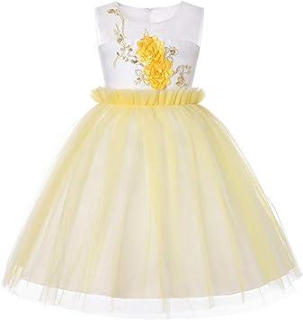 Kinder Baby Mädchen Kleid Prinzessin Tutu Kleid Ärmellos Partykleid Neugeborenes