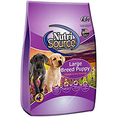 Nutrisource Large Breed Puppy Food 15Lb