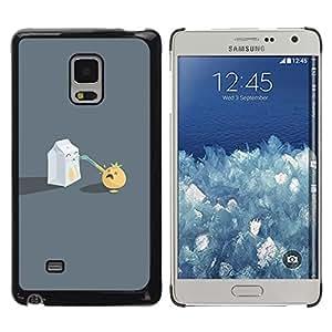 Stuss Case / Funda Carcasa protectora - Funny Milk Sucking - Samsung Galaxy Mega 5.8