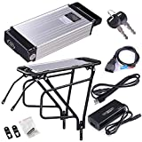 36v 14ah Li-Ion Lithium Polymer Bicycle Battery Pack with Mounting Rack